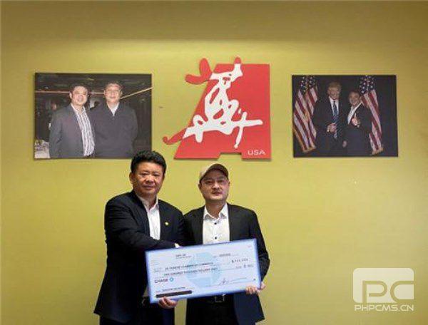 心系家乡!美国华商会会员向安徽省捐赠10万只口罩